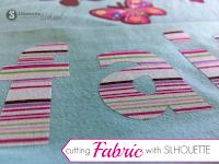 silhouette cameo tutorial beginner, silhouette cameo fabric, cut fabric silhouette beginner tutorial