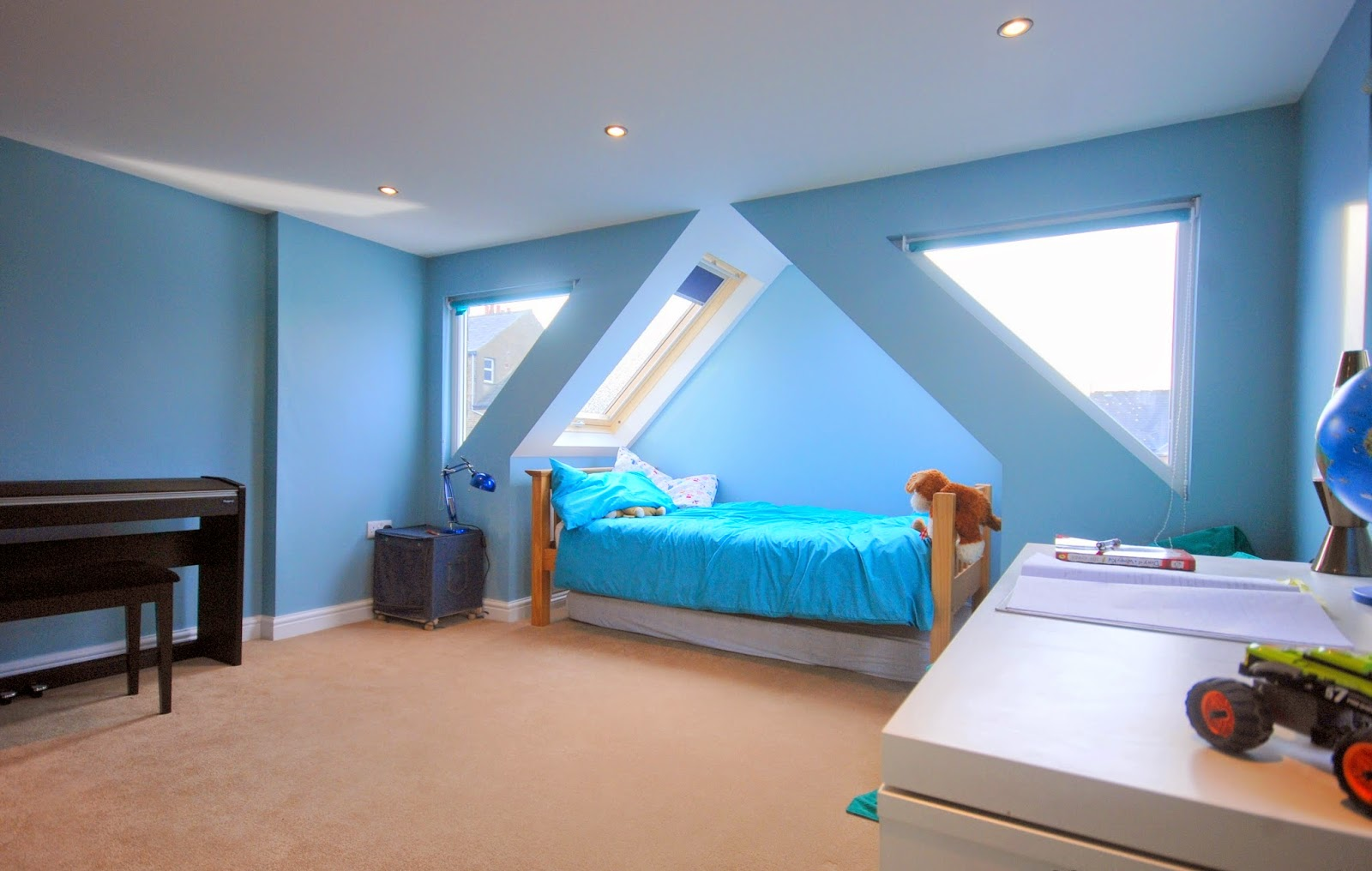 breathtaking loft bedroom conversion ideas | Home Design Wallpaper: Vibrant Transitional Master Bedroom ...