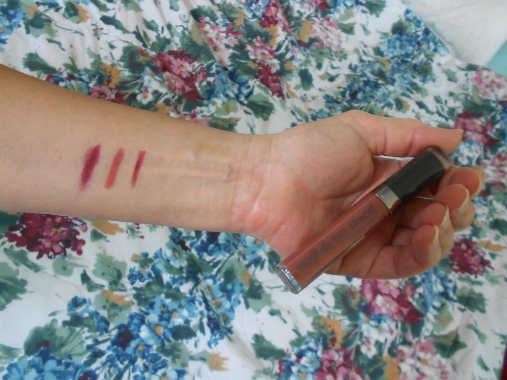 swatches of lip products & the lip gloss.jpeg