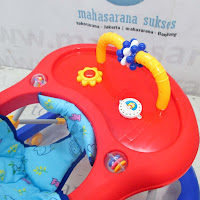 Family FB2218 Roller Toys Music Baby Walker
