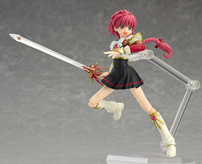 Hikaru Shidou da Magic Knight Rayearth in ver Figma dalla Max Factory