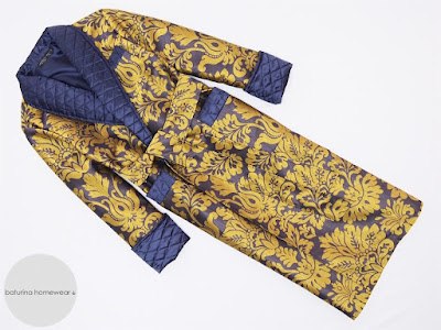 mens luxury paisley silk dressing gown extra long warm quilted robe men