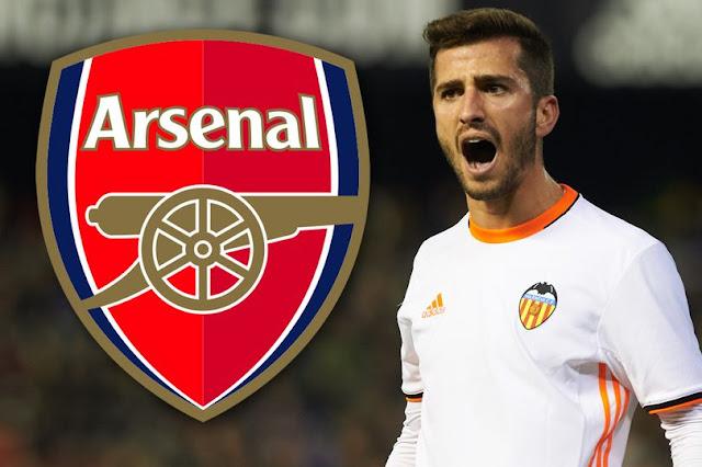 Arsenal targeting Valenica left-back Jose Gaya