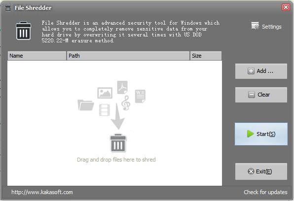 Free Download File Shredder 4.1.2
