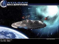 Uzay yolu, Star Trek filmindeki Atılgan uzay gemisi