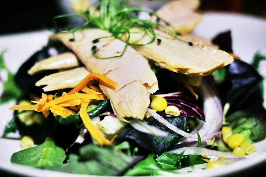 tunfish salad melia dish barcelona sarria