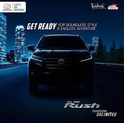 Test Drive All New Toyota Rush Surabaya