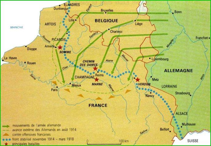 Batalla De Verdun Mapa.Jose Antonio Bru Blog Gran Guerra Batallas De Verdun Y