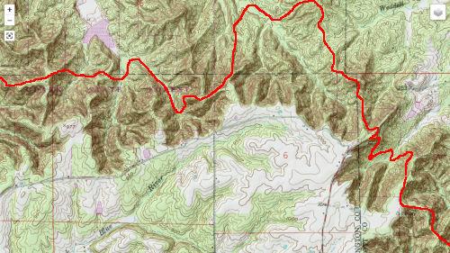 Knobstone Trail Map