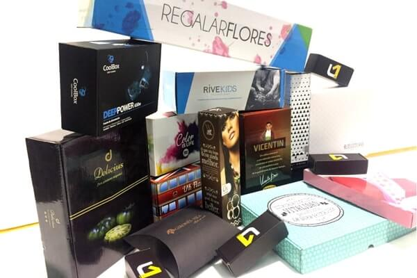 packaging cajas con impresion offset