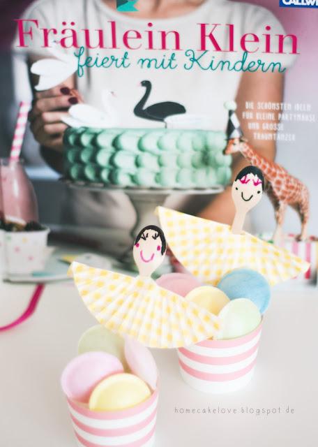 Fräulein Klein feiert mit Kindern, neues Buch von Yvonne Bauer alias Fräulein Klein, Buchvorstellung, backen und dekorieren