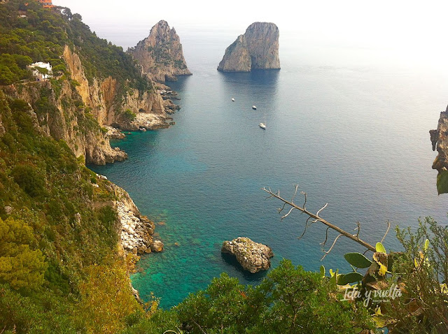 Farallones de Capri