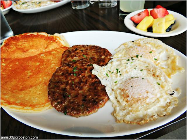Cafe Luna en Cambridge: Menú Almuerzo