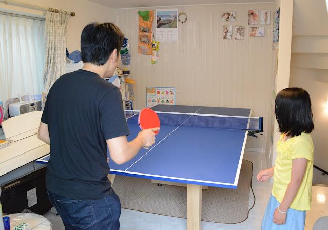 家庭用の卓球台