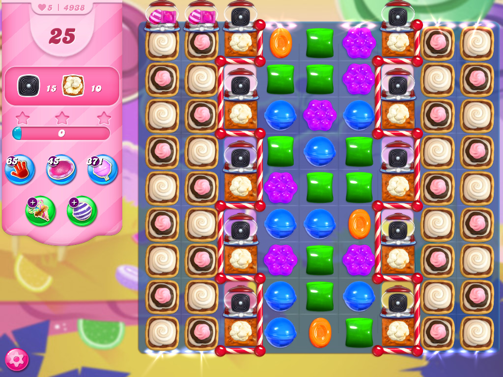 Candy Crush Saga level 4938