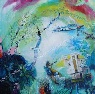 ayoe l l pløger, kunst, art,galleri,kærlighed, glade farver, birk,symboler, surf,kietsurf, måger, boat, surfbræt, surfbord, hav,bølger, wind, wind chaser, fregatten jylland, juelsminde, spanien