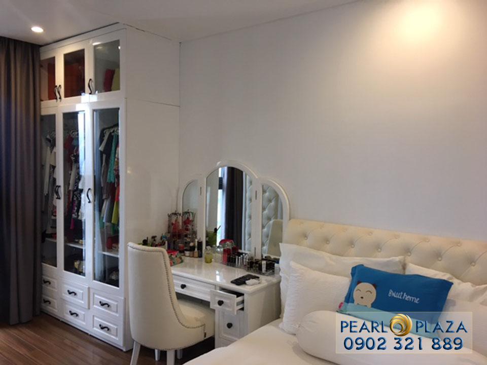 cho thue can ho chung cu pearl plaza - phòng ngủ 2 view cửa ra vào