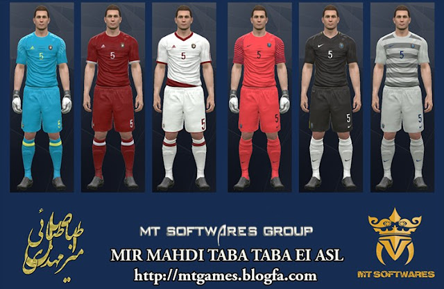 PES 2017 Classic Teams Kits by MT Games