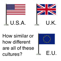 Comparing the US, the EU, and the UK.