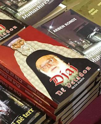 """Προσβολή για την Ορθοδοξία η έκδοση """"Δαίμονες στο ράσο"""" στην έκθεση βιβλίου Τιράνων, με εξώφυλλο τον άγιο Κοσμά και τον Αρχιεπίσκοπο Αναστάσιο"""