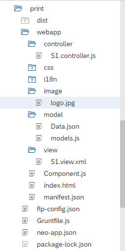 SAPUI5/SAP FIORI snippets and information: Export the Model Data to