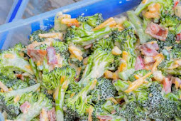 Delicious Broccoli Salad with Cheese, Bacon, and Jalapeno