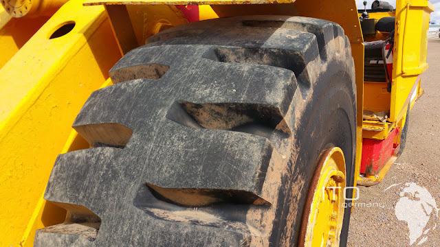 Reifen Tunnelbaumaschine Fahrlader
