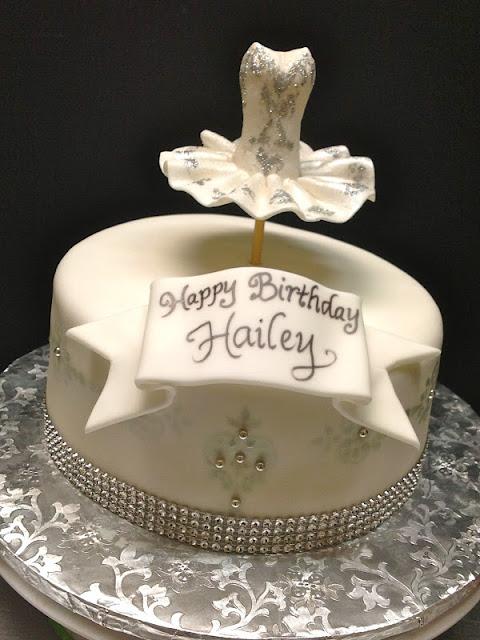Plumeria Cake Studio Bling D Out Ballerina Birthday Cake