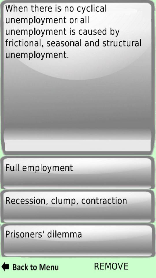 economics flashcards Study these adaptive flashcards online, or in our iphone or android app, using spaced repetition.