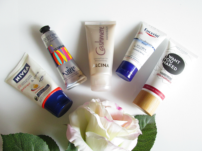 5 Hand Cremes für trockene Hände im Winter - L´OCCITANE, Nivea, ALCINA, Eucerin, Saint Clouds I want you naked