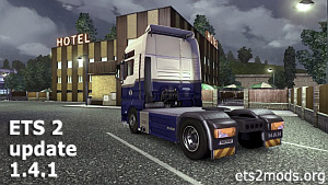 Euro Truck Simulator 2 patch 1.4.1