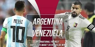 مشاهدة مباراة الأرجنتين وفنزويلا بث مباشر 22-03-2019 مباراة ودية دولية
