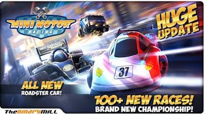 Mini Motor Racing Mod Apk game