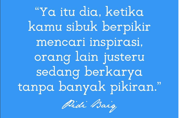 Pidi baiq quotes Cinta