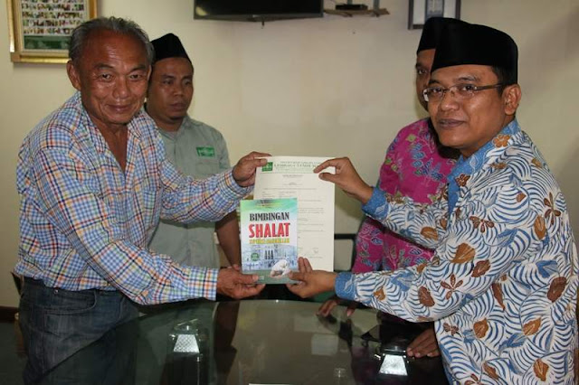 Alhamdulillah, PBNU Bimbing Masuk Islam lagi Dua Warga Jakarta
