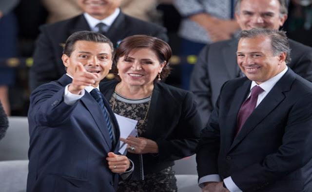 Meade, Rosario Robles, Peña Nieto