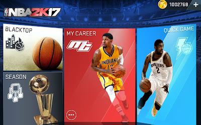 NBA 2K17 MOD APK free