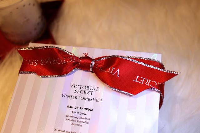 victorias secret winter bombshell perfume rosy cherrington