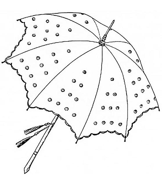 Gambar Mewarnai Payung - 7