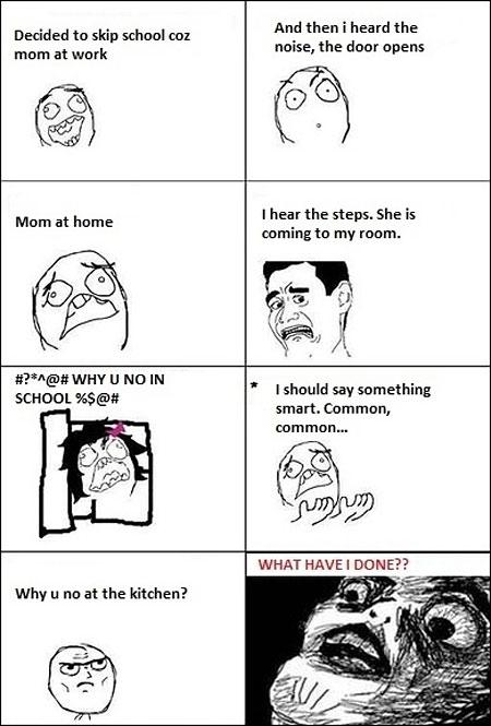 mom comes home