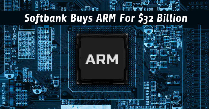 Softbank-ARM-tech-acquisition