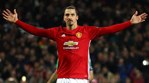 Zlanta Ibrahimovic sign new contract with Manchester United