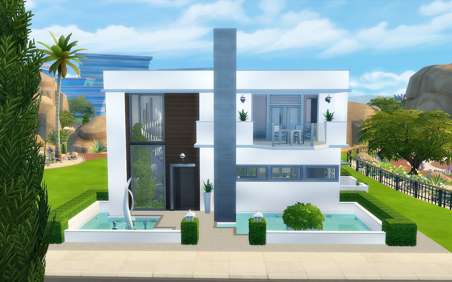 my sims 4 blog modern house no cc by viasims