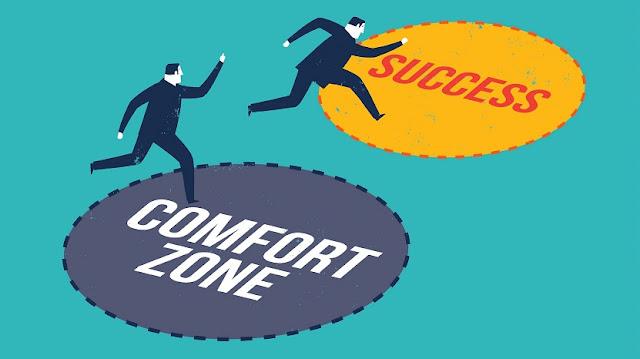 Zona Nyaman ke Sukses