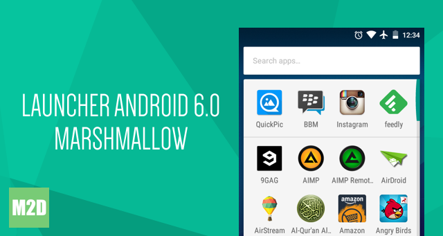 Launcher Android 6.0 Marshmallow