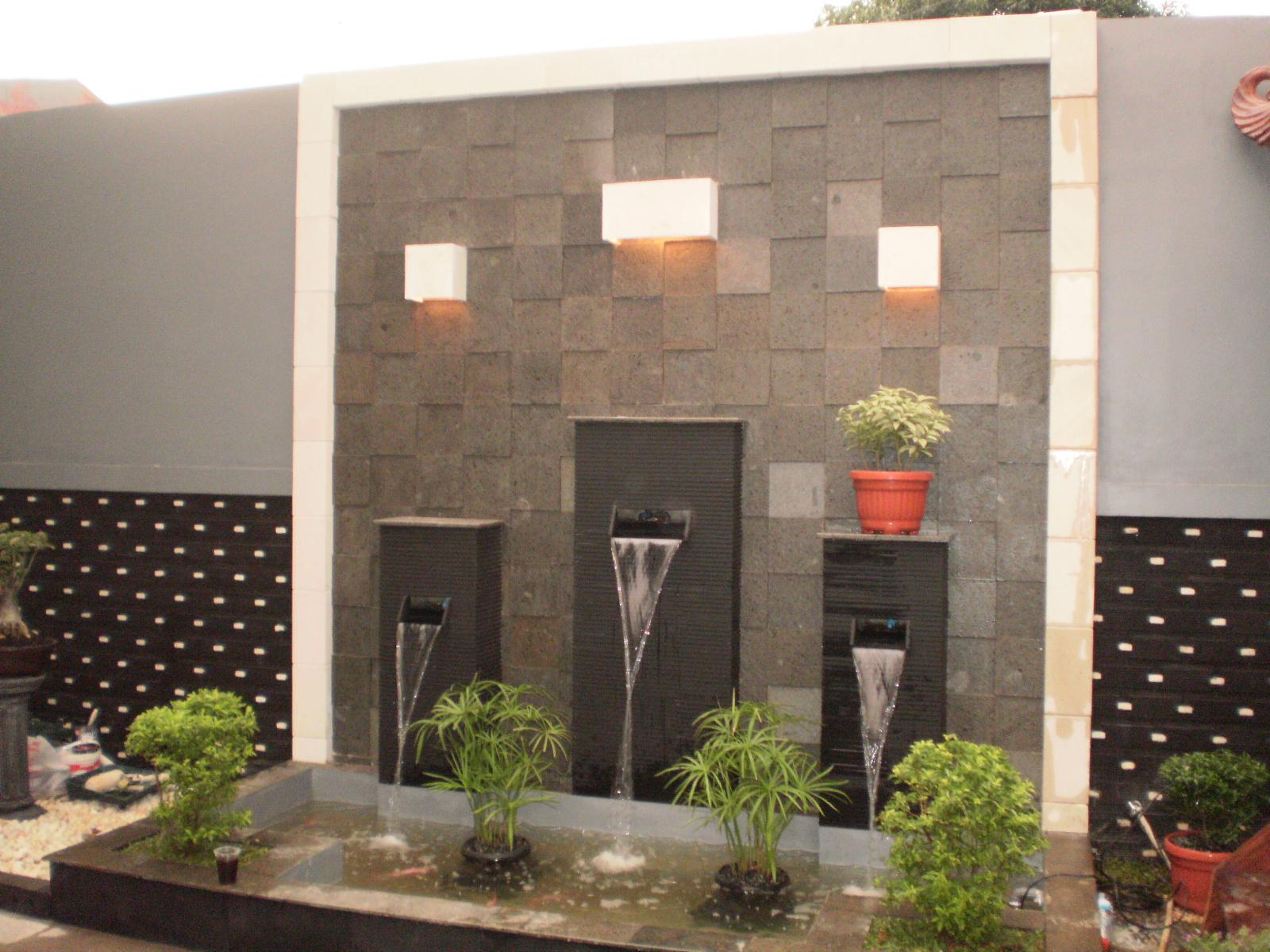 Desain Taman Dinding Dalam Rumah Destaman