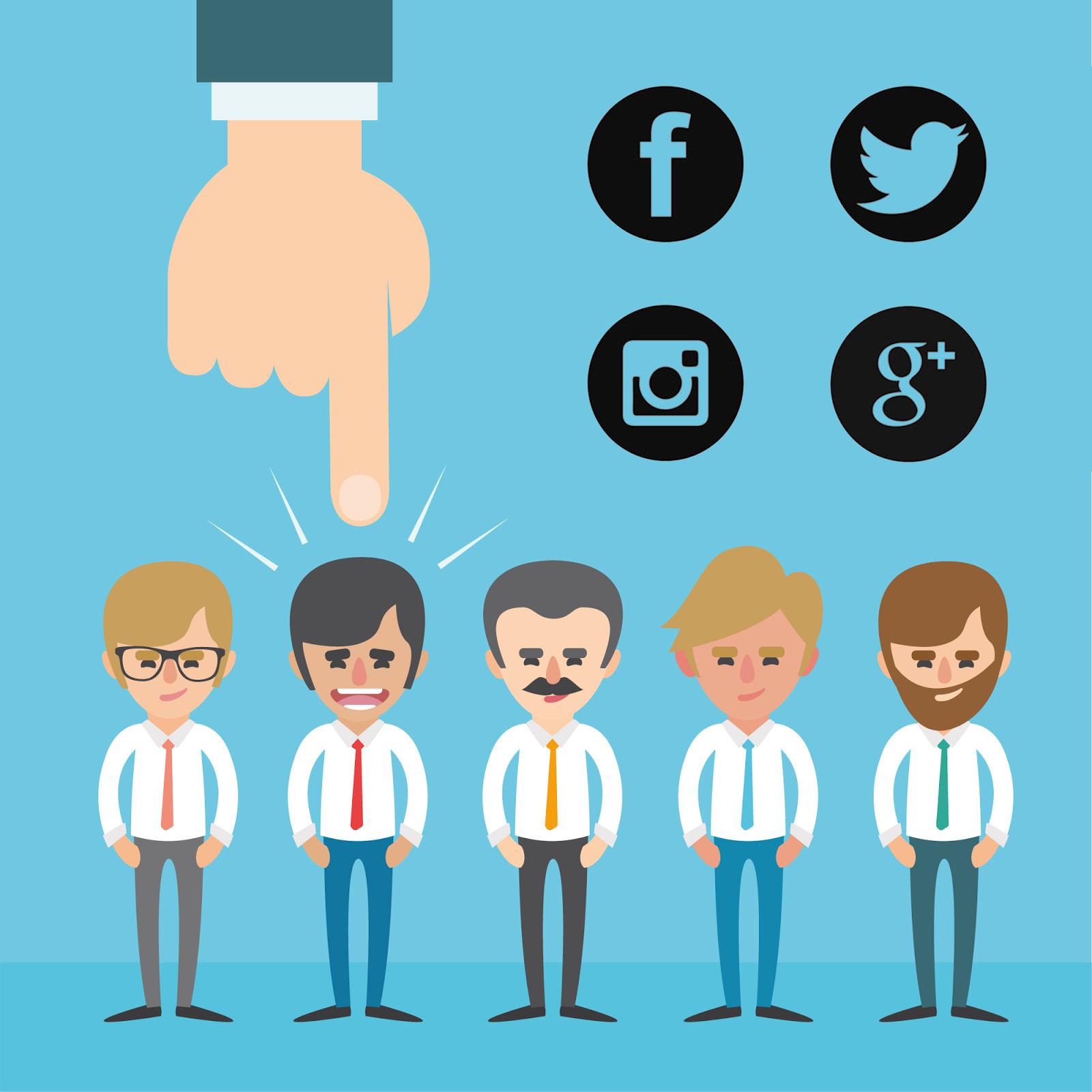 trabajo redes sociales