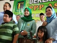 Titiek Soeharto Menangis, Dua Bocah Ini Sumbang Uang ke BPN Pasangan Nomer 2