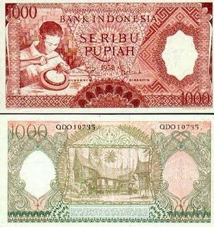 Rupiah 1000 1