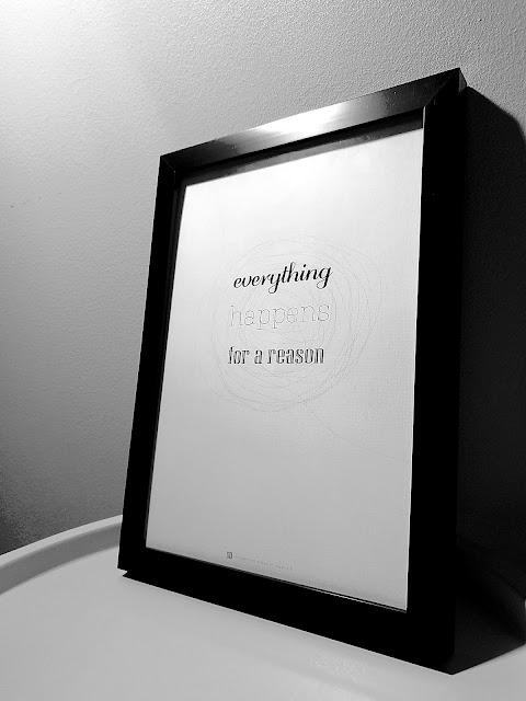 Saippuakuplia olohuoneessa- blogi, Kuva Hanna Poikkilehto, sisustus juliste, arvonta, everything happens for a reason,